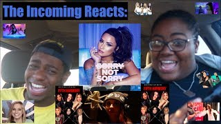 KEEPING UP WITH 5H & DEMI LOVATO'S SORRY NOT SORRY MUSIC VIDEO! | REACTION
