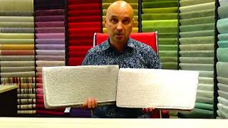 Whats the difference between a twist pile carpet and a loop pile carpet