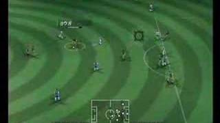 Pro Evolution Soccer 2008 Wii Gameplay 1