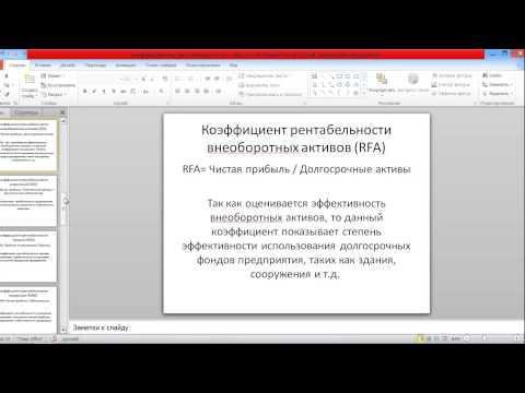 12 основных коэффициентов рентабельности (Жданов Василий, к.э.н.)