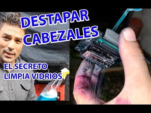 LIMPIEZA DE CABEZALES EPSON CON LIMPIA VIDRIOS * EL GRAN SECRETO*ECONOMICO