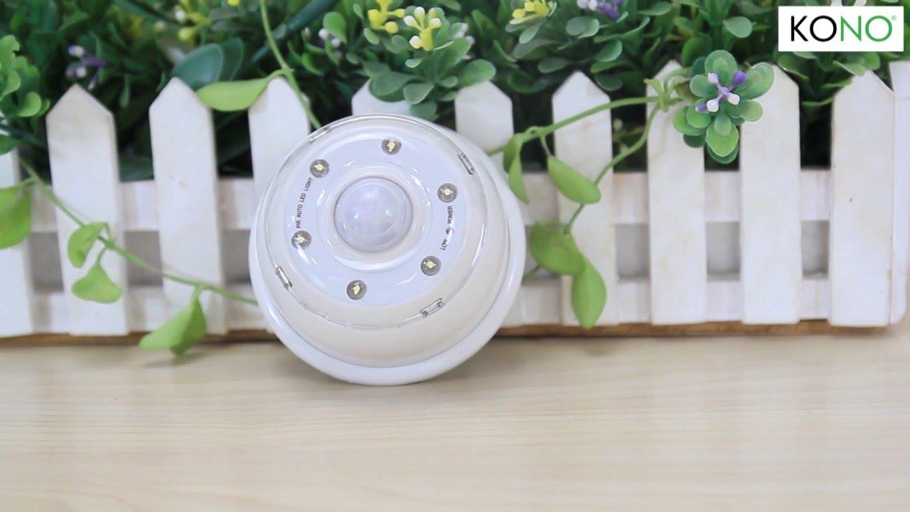Đèn cảm ứng tự động KONO KN-L0605 | KONO.vn