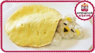☺ Отличный завтрак / ужин для детей // Спящий мишка // Кулинарный креатив