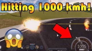 Trying to hit 1000 Kmh, is it still possible? | Roblox: Vehicle Simulator