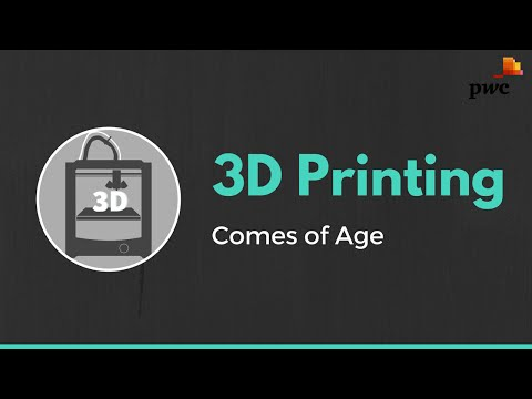3D Printing Comes of Age
