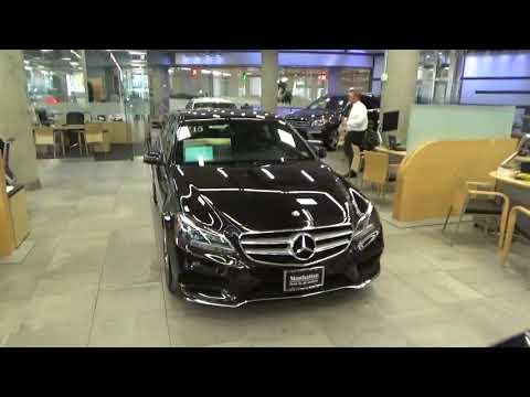 Mercedes Benz Manhattan, New York City, USA