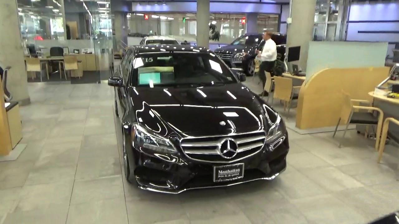 Mercedes Benz Manhattan, New York City, USA - YouTube