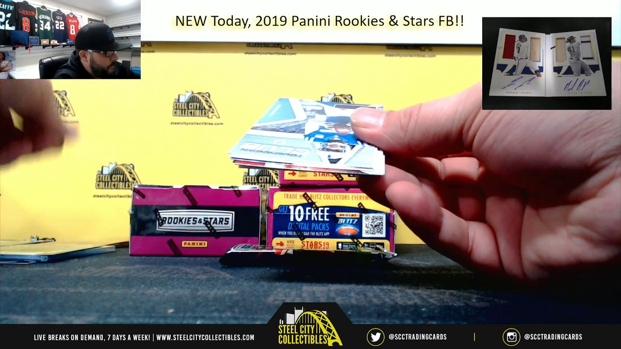 Download 2019 Panini Rookies & Stars Football Hobby 4-Box Random Division Group Break #3- Cyber Monday Packs
