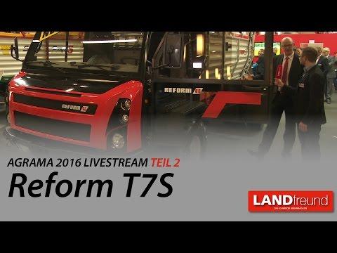 LANDfreund Agrama Livestream 2/8: Reform T7S und Prim Alpin