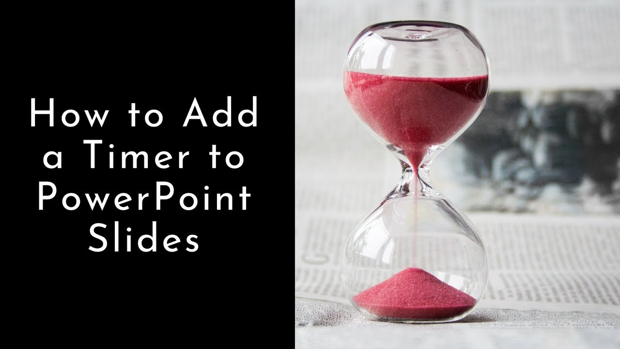 How to Add a Timer to Your PowerPoint Slides