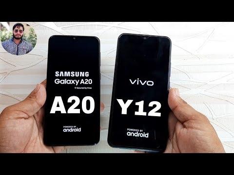 Vivo Y12 Vs Galaxy A20 Speed Test Comparison?