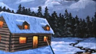 Видео 44 Часть 19. Как рисовать снег. рождество
