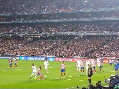 Gol de Sergio Ramos en Lisboa desde la grada (Final Champions League)