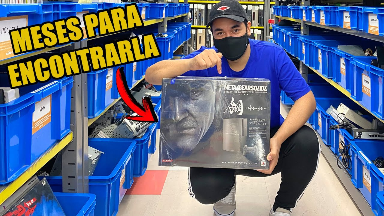 POR FIN! PLAYSTATION 3 METAL GEAR SOLID EDICION LIMITADA en JAPON | VIDEOJUEGOS RETRO