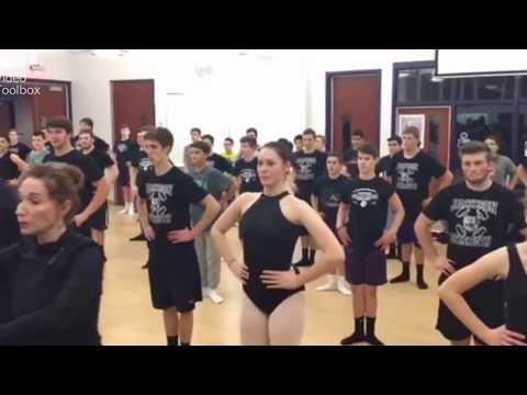 JHS Football Team Takes Ballet