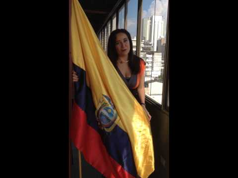 Karina Galvez amor a la ecuatoriana