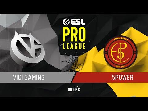 CS:GO - ViCi vs. 5Power [Mirage] Map 3 - Group C - ESL Pro League Season 9 APAC