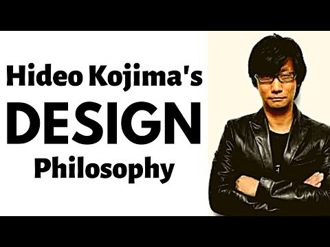 How Hideo Kojima Designs Games | The Secret History And Design Philosophy Of Metal Gear Solid