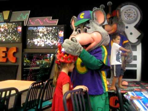 Lizette 6th Birthday At Chuck E Cheese Youtube