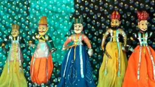 Indian traditional KATHPUTALI (puppet) show