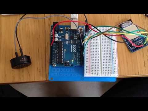 Arduino with SD card playing Doctor Who theme (WAV audio)