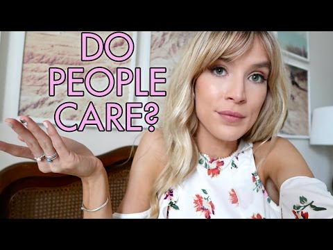 DO PEOPLE ACTUALLY CARE ABOUT THIS? | leighannvlogs