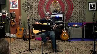 Tony Performing Old Man Main Street Music and Art Studio