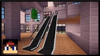 ✔ Minecraft PE: How To Make A Working Escalator   No Mods Or Addons!