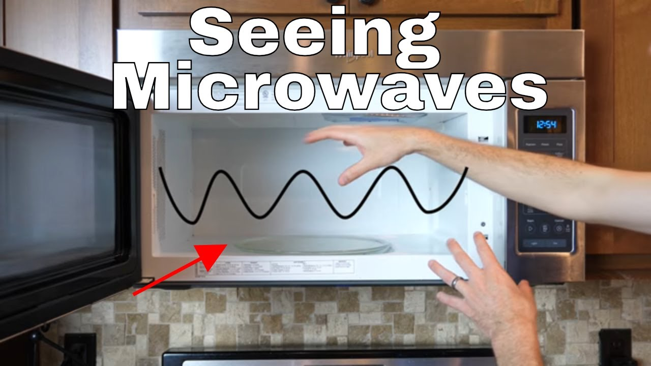 Can You See Standing Waves In A Microwave Using Lit  Glow