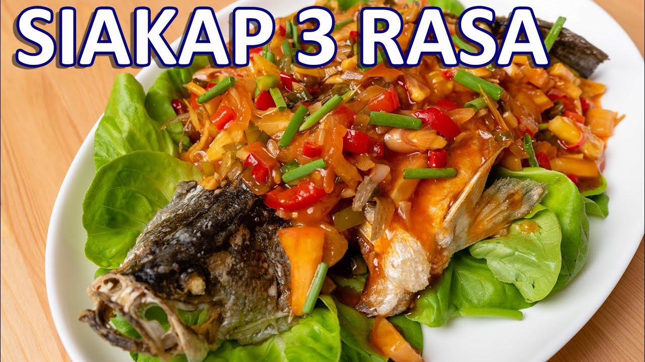 Download Ikan Siakap 3 Rasa Sedap Macam Restoran Thai