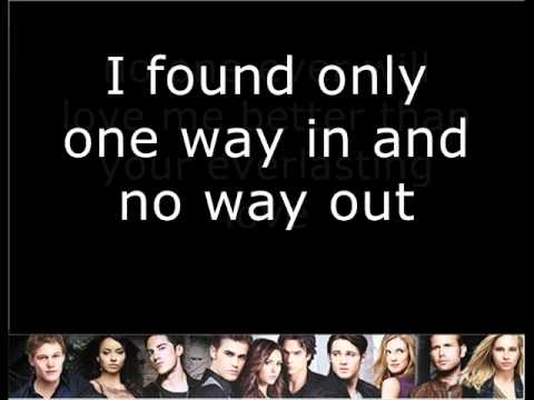 Rie Sinclair - No Way Out  / Vampire Diaries 02x10