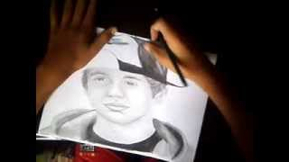 Drawing Austin Mahone part_2