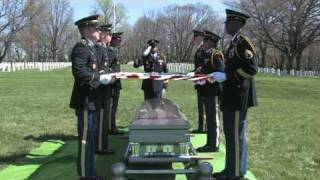 The Maryland National Guard Honor Guard Demonstration of  Military Funeral Honors