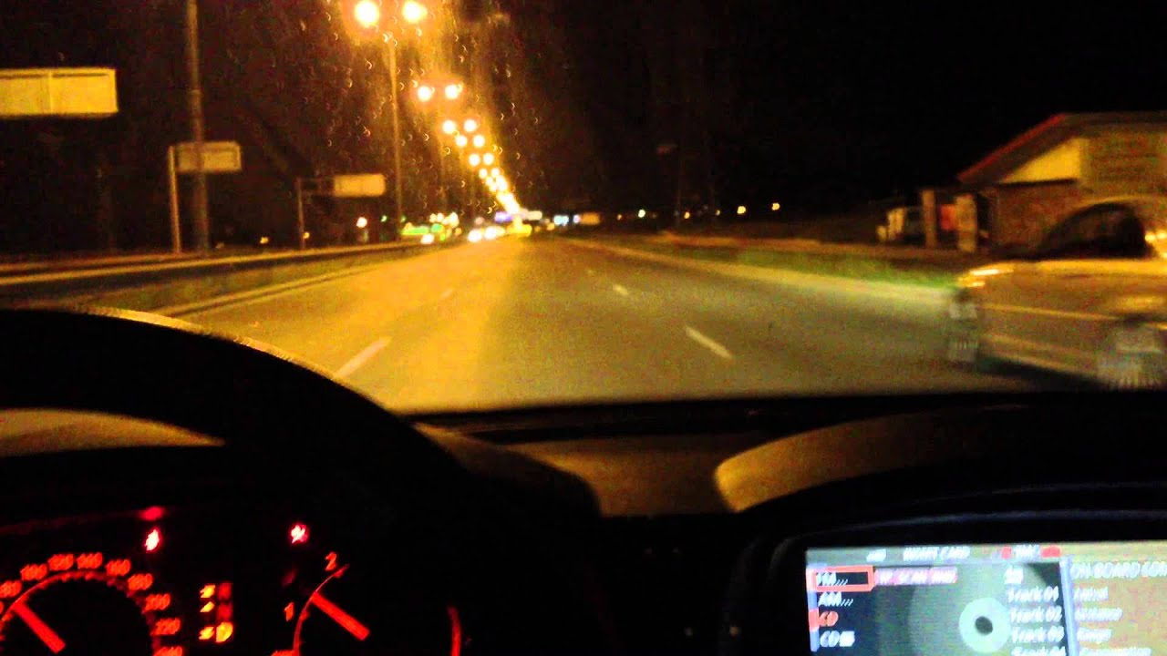 Night Driving With Bmw 7 Series Youtube