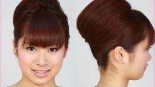 Repeat youtube video 結婚式お呼ばれヘア 簡単 ヘアアレンジ bridal hair tutorial