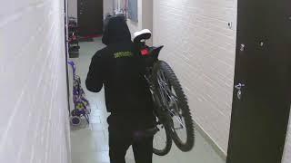 Кража велосипедов на Учительской