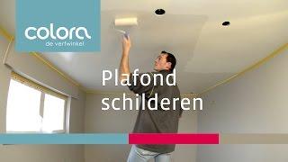 Hoe schilder ik een plafond?