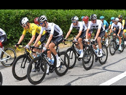 Breaking News - Lit flare thrown in Tour de France stage 13 narrowly misses  Team Sky 2b092a874
