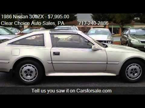 Nissan 300zx For Sale >> 1986 Nissan 300ZX 2+2 2dr Hatchback for sale in Carlisle, PA - YouTube