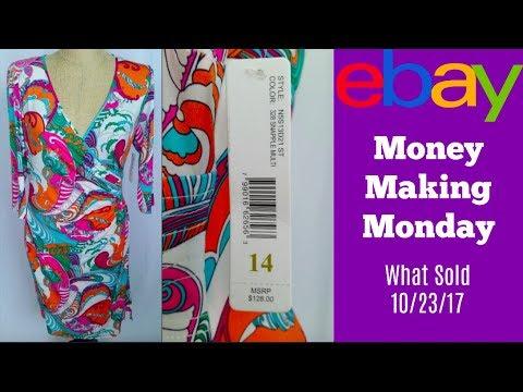 What Sold on eBay Money Making Monday 10-23-17