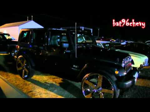 "Jeep Wrangler Unlimited Sahara on 30"" DUB Ballers, 5th Wheel DUB Baller! - 1080p HD"