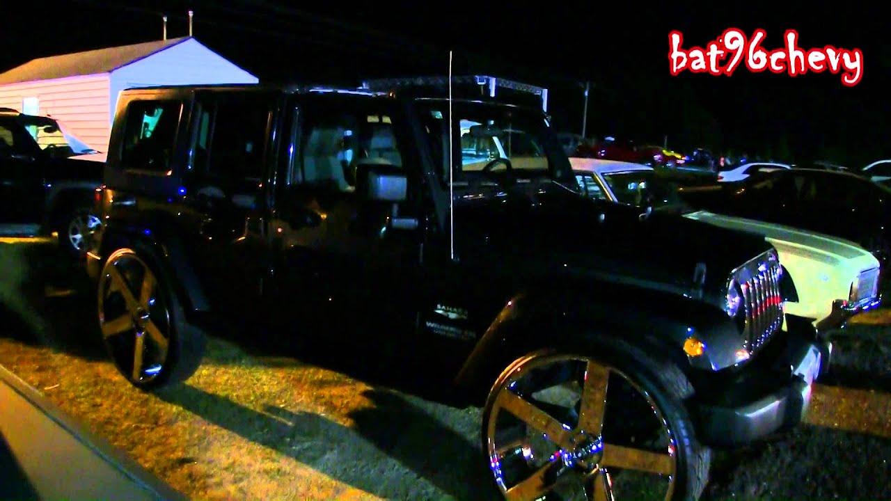 Jeep Wrangler Unlimited Sahara on 30 DUB Ballers 5th