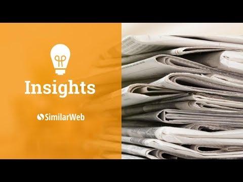 SimilarWeb Top Media Sites Ranking