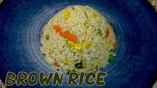 how to cook brown rice  Easy and perfect