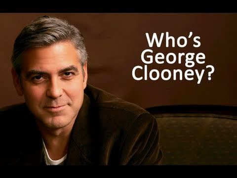 Who's George Clooney (with Noah Wyle & J.P. Manoux)