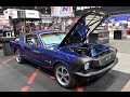 1965 Ford Mustang Fastback : electric powered
