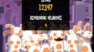 Raving Rabbids TV Party:Score of 20602