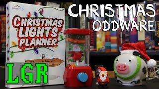 LGR Oddware - Christmas Crap [USB Cow, Xmas Lights Planner, etc!]