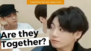 what happened TO JUNGKOOK in the v live?  TAEKOOK moments that you missed  Detail Analysis 💜