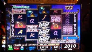 Thundering Buffalo Free Spin Bonus Game ($1.00 Bet)